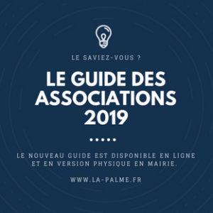 Le guide des associations 2019 est disponible